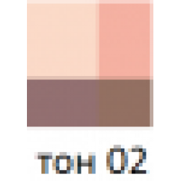 CEZANNE Airy Touch Shadow Тени для глаз 02