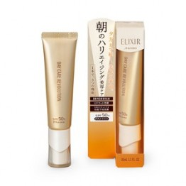 SHISEIDO Elixir Superieur Day Care Revolution W+ SPF 50 — дневная эмульсия