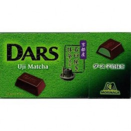 MORINAGA Dars Uji Matcha — шоколад с зеленым чаем