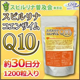ALGAE спирулина в сочетании с коэнзимом Q 10