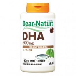 ASAHI Dear - Natura - DHA, EPA омега 3 жирные кислоты с экстрактом Гинкго - Билоба