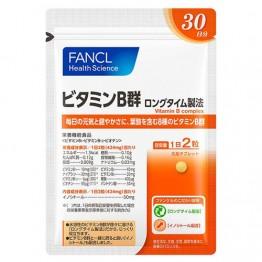 8 видов витаминов группы В от Fancl