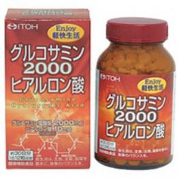 ITOHсупер Глюкозамин 2000 с гиалуроновой кислотой