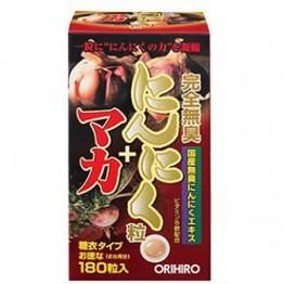 Orihiro Чёрный чеснок без запаха с Мака
