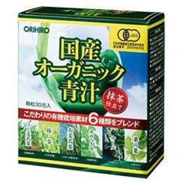Органический зелёный сок Orihiro