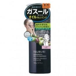 Tsururi Ghassoul Oil Cleansing - очищающее масло для лица с вулканической глиной