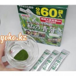 Аодзиру зеленый сок из сочных листьев ячменя отYAKULT