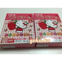 Детские витамины желе с клубничным вкусом Hello Kitty