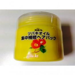 KUROBARA Tsubaki Oil Концентрированная маска для восстановления поврежденных волос с маслом камелии 300 гр.