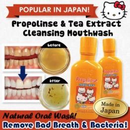 Propolinse Family Type от Pieras — эликсир для зубов без спирта