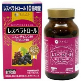 Resveratrol-Q10+EPA+DHA-Ресвератрол
