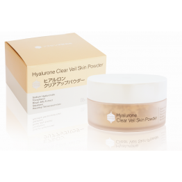 Hyalurone clear veil skin powder гиалуроновая пудра - перламутровая вуаль