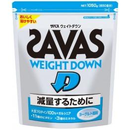 Протеиновый комплекс для снижения веса Meiji, Savas Weight Down с йогуртовым вкусом